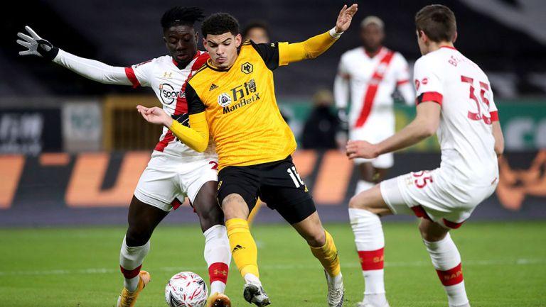 Raúl Jiménez: Wolves, eliminados de FA Cup por el Southampton