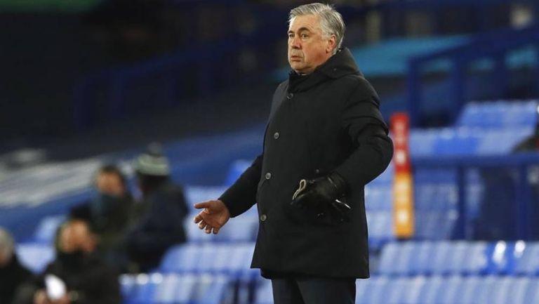 Ancelotti en partido