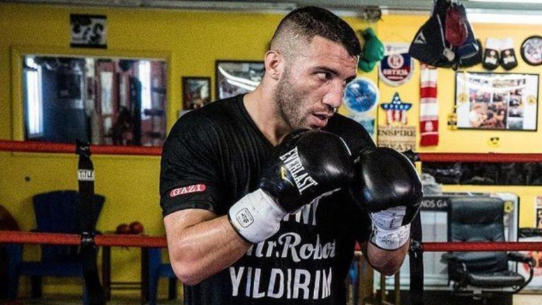 Avni Yildrim durante un entrenamiento