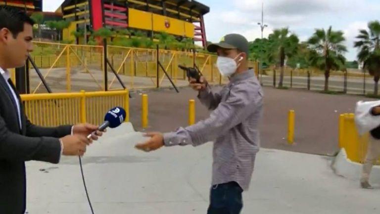 Periodista en asalto