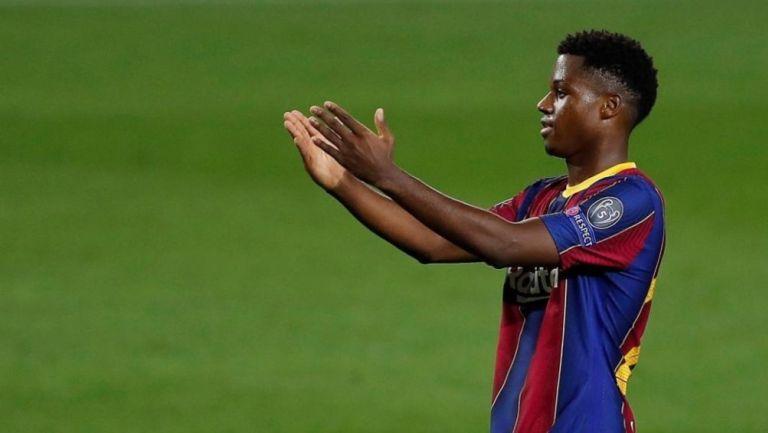 Juventus: Ansu Fati sería opción ante posible salida de Cristiano Ronaldo