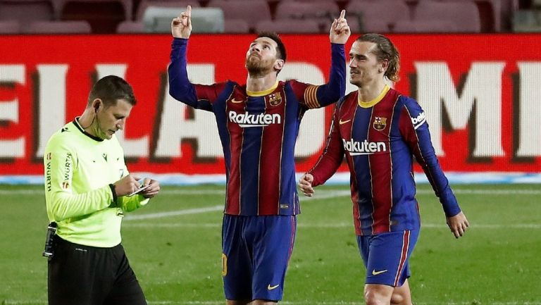 Barcelona: Goleó al Alavés con dobletes de Lionel Messi y Francisco Trincao