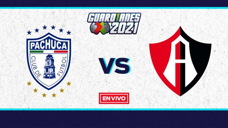 EN VIVO Y EN DIRECTO: Pachuca vs Atlas Guardianes 2021 J6