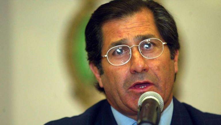 Edgardo Codesal, antiguo silbante del futbol mexicano
