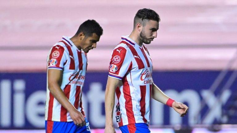Chivas ha recibido 10 goles en el torneo
