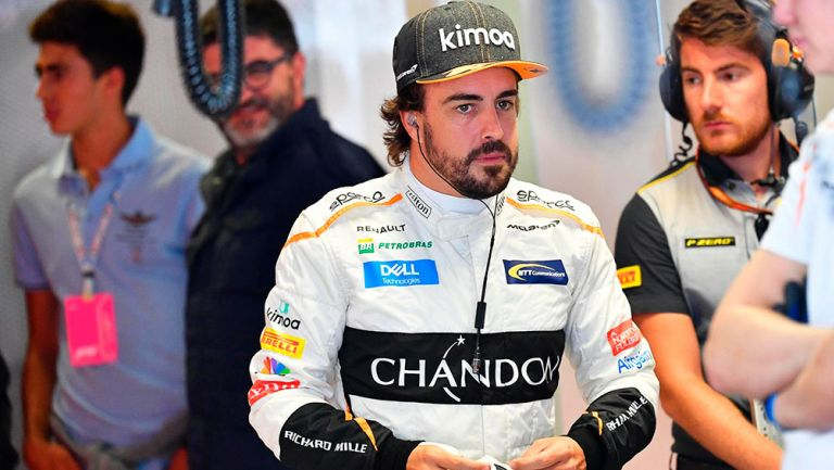 Fernando Alonso salió del hospital tras accidente en bicicleta