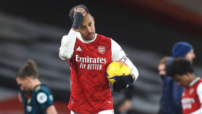 Arsenal investigará a Pierre-Emerick Aubameyang por su nuevo tatuaje