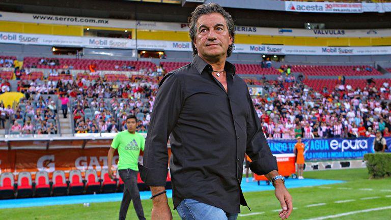 Rubén Omar Romano  durante un partido de Liga MX