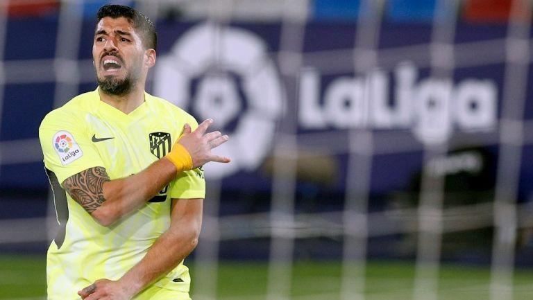 Luis Suárez en empate frente al Levante