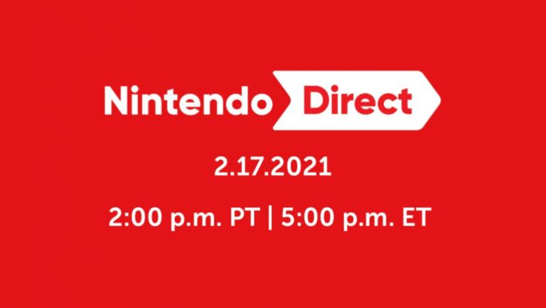 El primer Nintendo Direct del 2021 tendrá lugar este 17 de febrero