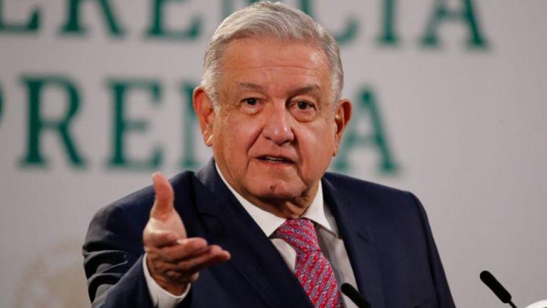 López Obrador reapareció en público tras superar el Covid-19