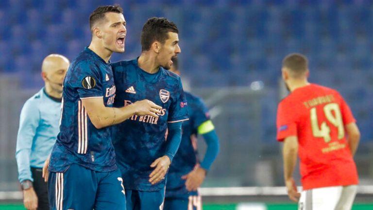 Europa League: Arsenal empató con Benfica en Dieciseisavos de Final