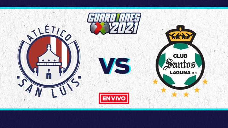 EN VIVO Y EN DIRECTO: Atlético de San Luis vs Santos