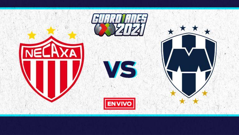 EN VIVO Y EN DIRECTO: Necaxa vs Monterrey Guardianes 2021 J7