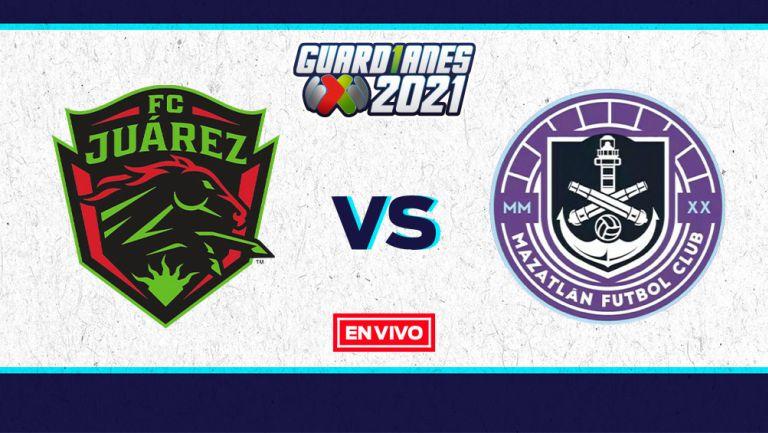 EN VIVO Y EN DIRECTO:  Juárez vs Mazatlán Guardianes 2021 J7