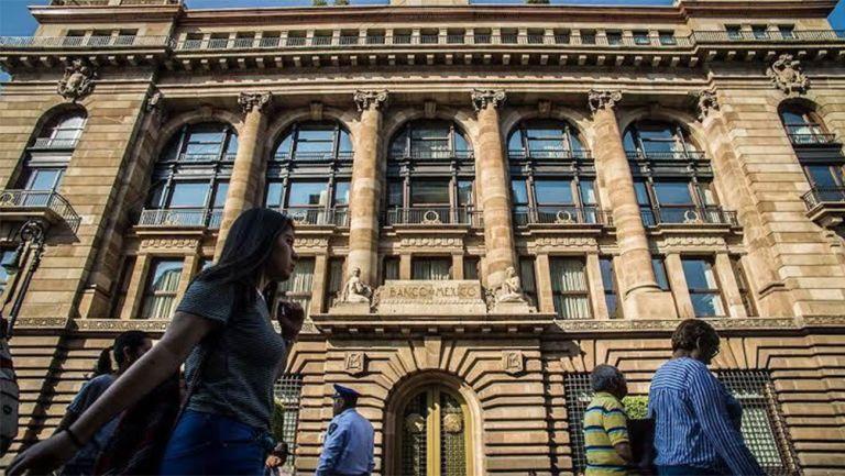 Las intalaciones del Banco de México