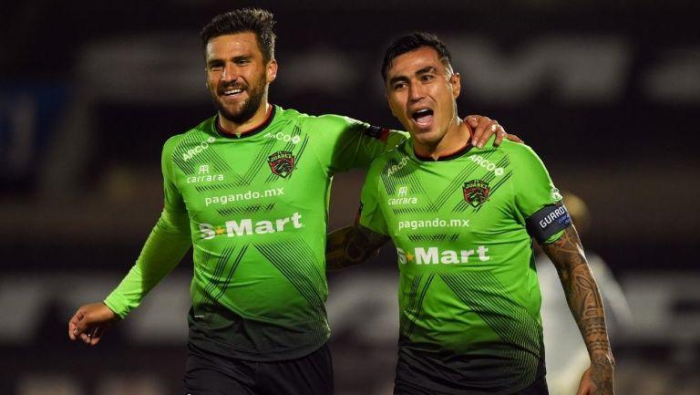 Darío Lezcano marcó el gol de Juárez