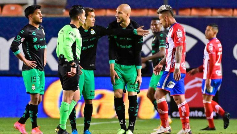 Atlético de San Luis en discusión