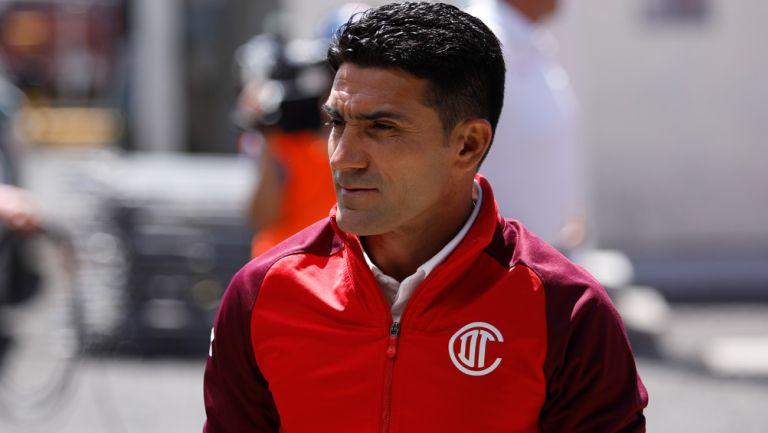 Sinha previo a un duelo de Toluca en Liga MX