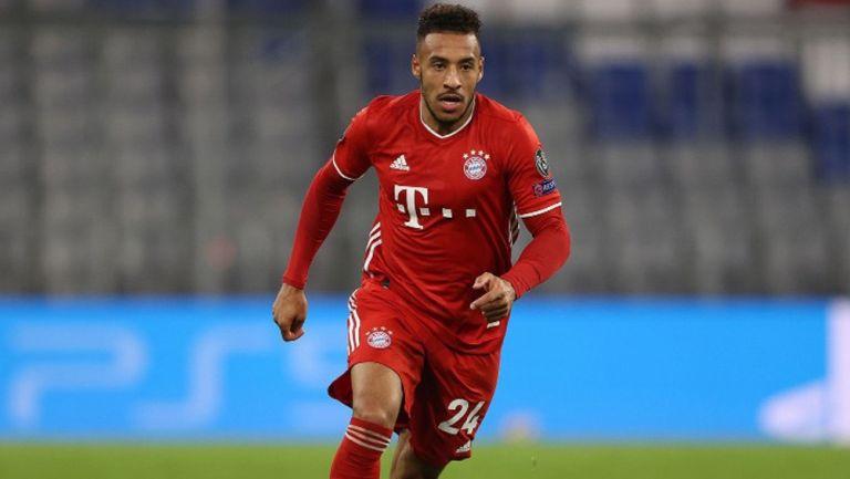 Corentin Tolisso en juego del Bayern Munich