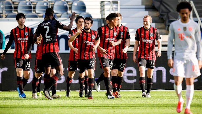 Bayern Munich: Cayó ante el Eintracht Frankfurt de visita