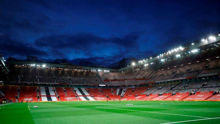Old Trafford previo a un partido del Manchester United