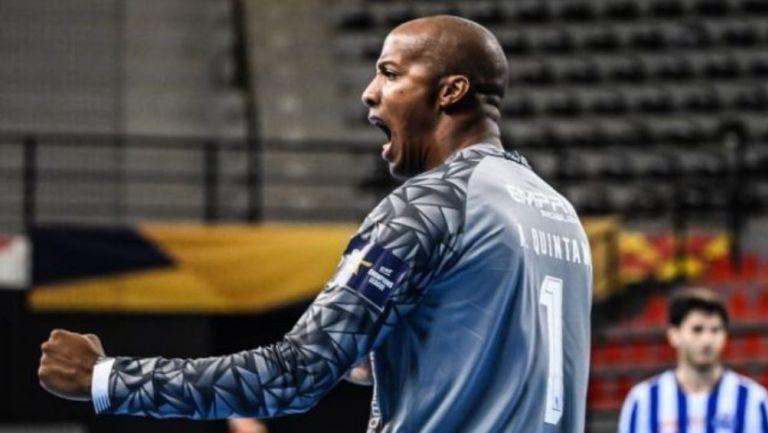 Quintana en un partido con el Porto