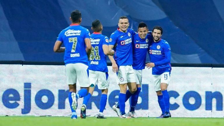 Cruz Azul tiene el mejor ataque de la Liga MX