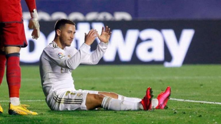 Eden Hazard en reclamo con Real Madrid