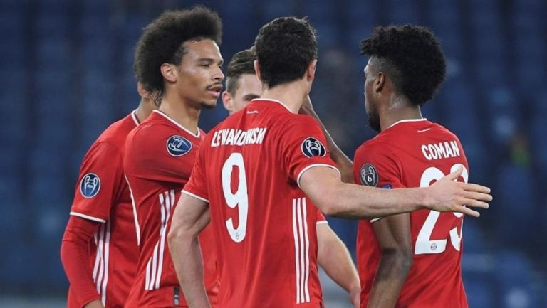 Bayern ganó a Lazio