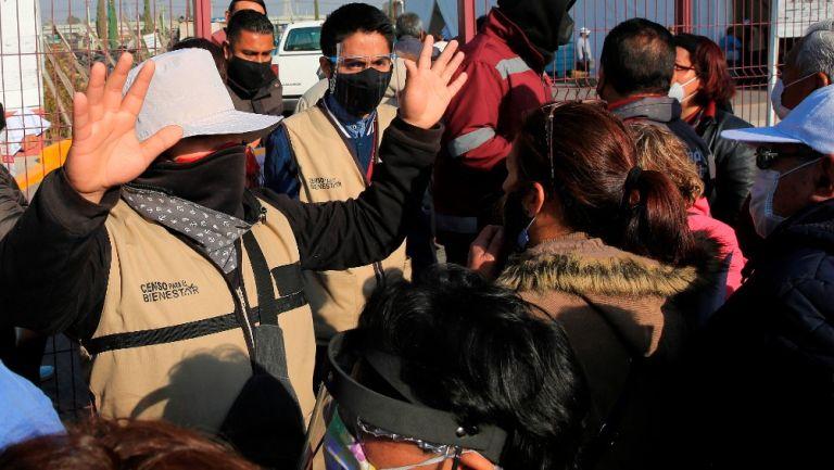 Coronavirus: En Ecatepec bloquearon de nuevo Avenida Central para exigir vacunas
