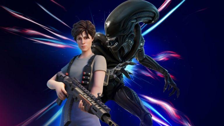 Ripley y el Xenomorfo de Alien llegarán a Fortnite