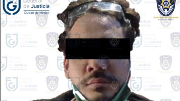 """Ricardo """"N"""" fue detenido en CDMX"""