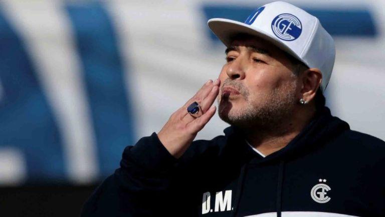 Diego Armando Maradona como entrenador