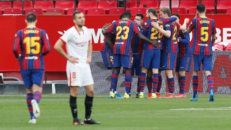 Barcelona: Rompió racha de partidos sin derrota del Sevilla