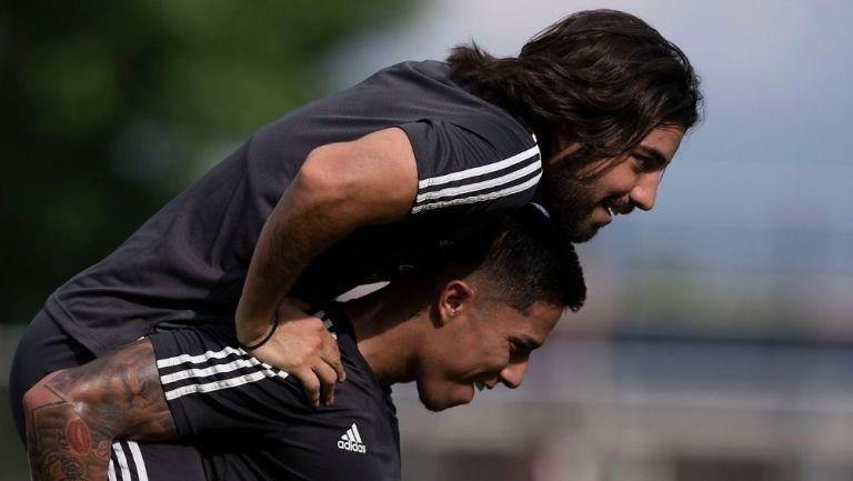 Pizarro y Salcedo con Selección