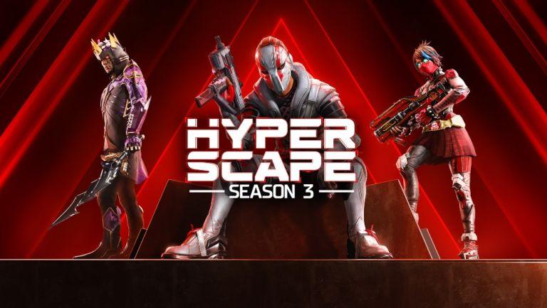Hyper Scape 3 tendrá su tercera temporada