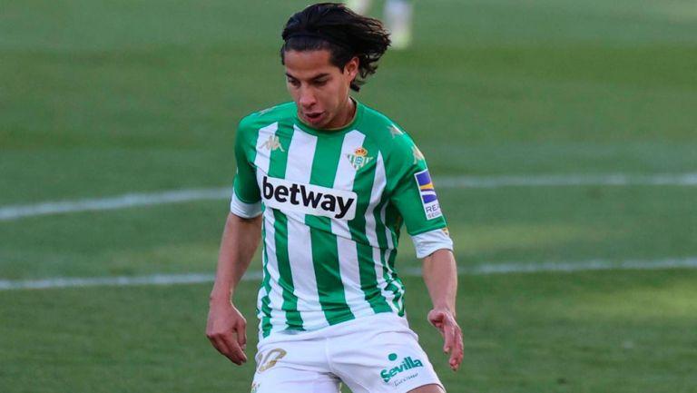 Diego Lainez: Volverá a la acción como titular con Betis ante Cádiz