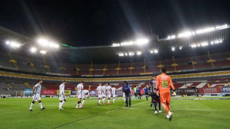 El Estadio Jalisco previo al Atlas vs América