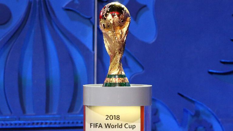 Copa del Mundo, en una exhibición