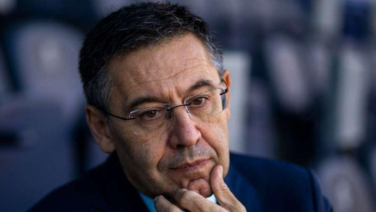 Josep Maria Bartomeu en presentación