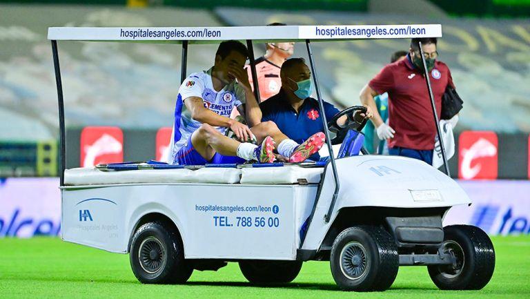 Cruz Azul: Adrián Aldrete estará hasta dos semanas fuera por lesión muscular