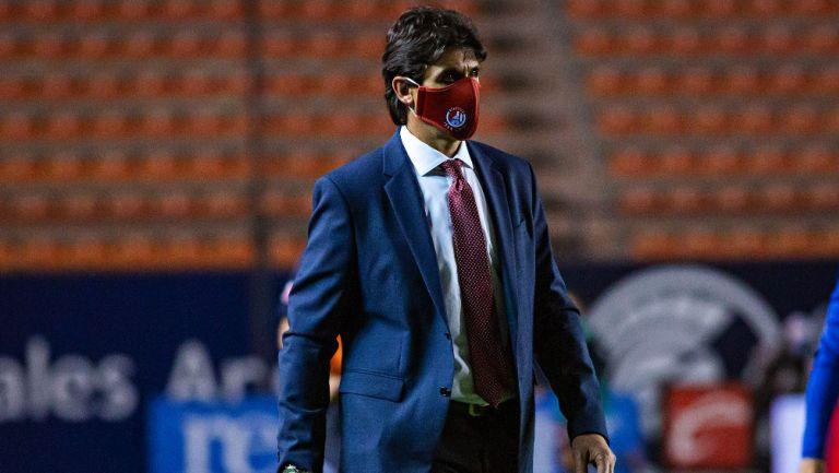 Leonel Rocco en partido