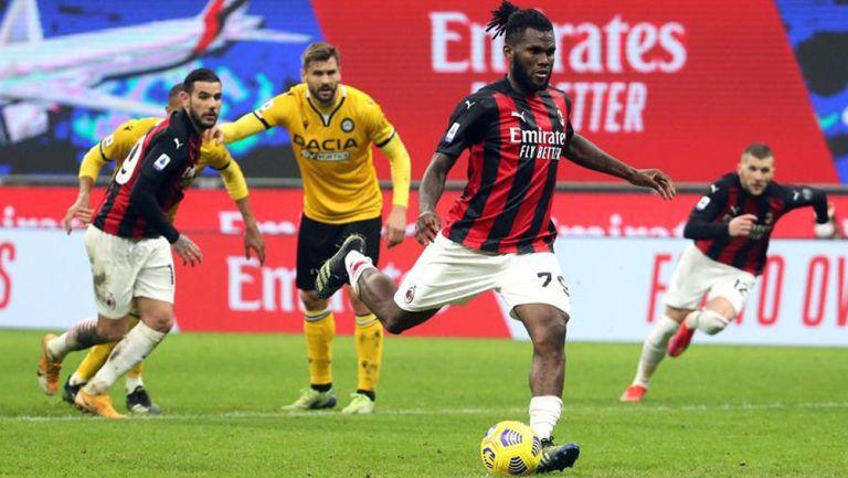 Acciones entre el Milan y el Udinese