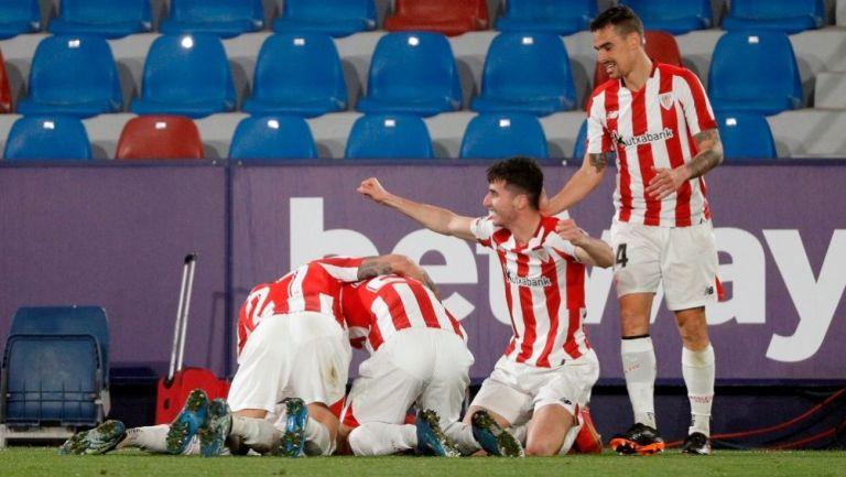 Athletic de Bilbao venció al Levante en la semifinal de la Copa del Rey