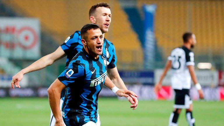 Inter de Milán: Con doblete de Alexis Sánchez, venció al Parma y reforzó su liderato