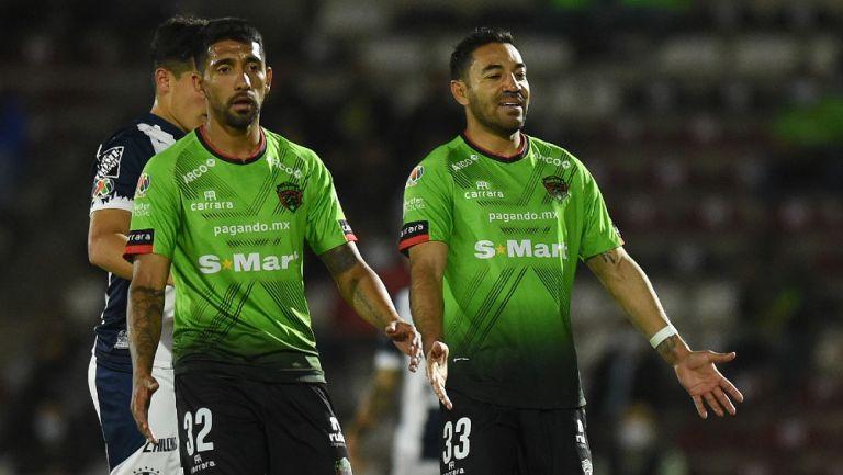 García y Fabián en goleada vs Rayados