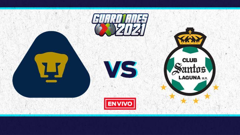 EN VIVO Y EN DIRECTO: Pumas vs Santos