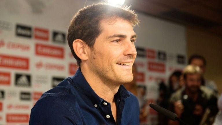 Iker Casillas confía en que el Real Madrid triunfe ante el Atlético de Madrid