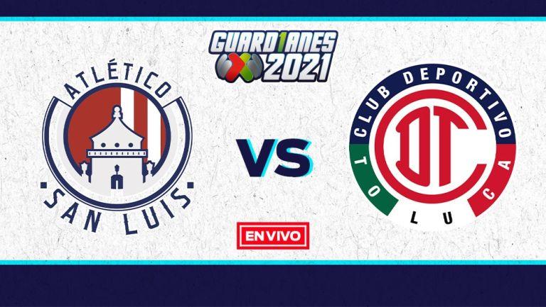 EN VIVO Y EN DIRECTO: Atlético San Luis vs Toluca